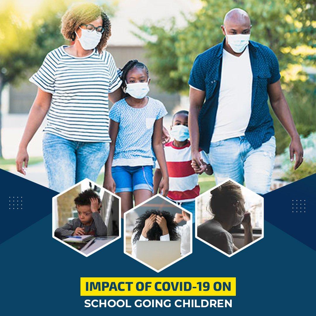 Impact of COVID-19 on school children